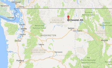map of chewelah